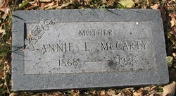 Annie Laurie <i>Reed</i> McCarty