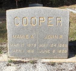 Mamie A. Cooper