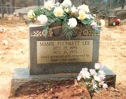 Mary Emma Mamie <i>Plunkett</i> Lee