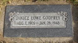 Janice <i>Lowe</i> Godfrey