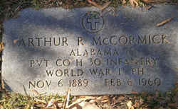 Pvt Arthur Randall Boss or Bochee McCormick