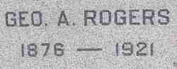 Geo. A Rogers