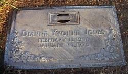 Dianne Yvonne Jones