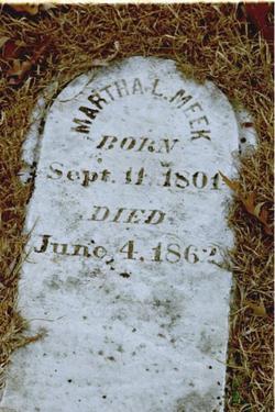 Martha Louisa <i>Starr</i> Meek