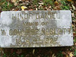 Minor <i>Daniel</i> Neblett