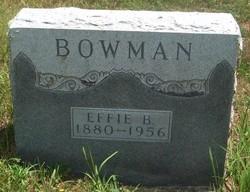 Effie Belle Bowman