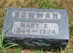Mary Elizabeth <i>Heltzel</i> Bowman