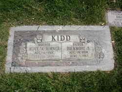 Alice Amelia <i>Turner</i> Kidd