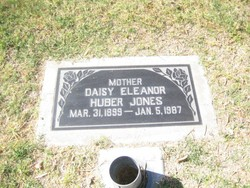 Daisy Eleanor <i>Huber</i> Jones