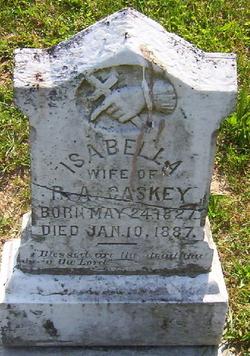 Isabella <i>Clements</i> Caskey