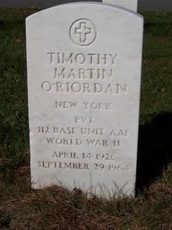 Timothy Martin O'Riordan