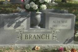 Alta Mae <i>Burgess</i> Branch
