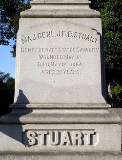 Gen James Ewell Brown J.E.B. Stuart