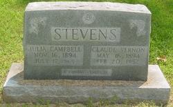 Julia Mayflower <i>Campbell</i> Stevens