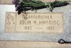 Julia Ann <i>House</i> Hanning