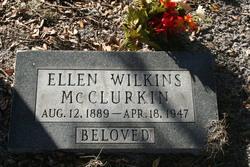 Ellen <i>Wilkins</i> McClurkin