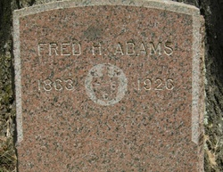 Frederic H Fred Adams