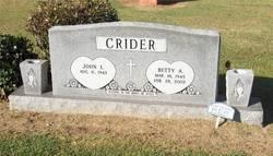 Betty Ann <i>Nelson</i> Crider