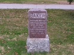 Christian Chris Baker, Jr