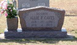 Allie F. <i>Sullivan</i> Caves
