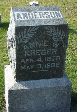 Annie W. <i>Kreger</i> Anderson