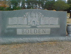 Paul Luther Bolden