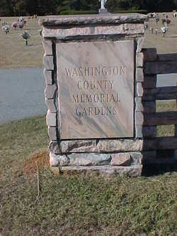 Washington County Memorial Garden