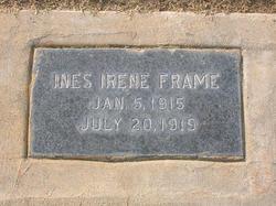 Ines Irene Frame