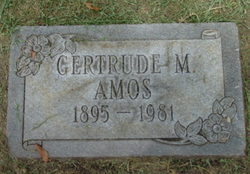 Gertrude M. Amos