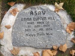 Emma Evelyn <i>Hill</i> Asay