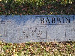 William R Babbin