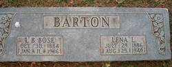 Lena Louisa <i>Kimball</i> Barton