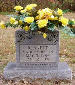 Maddux Byron Bennett