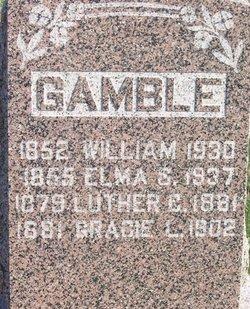 Elma S. <i>Troxell</i> Gamble