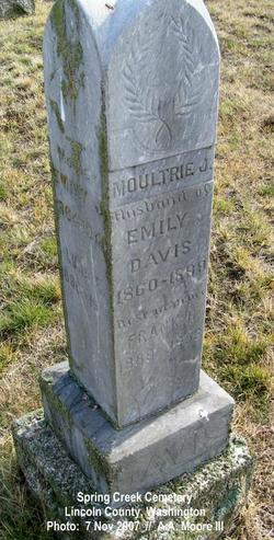 Emma Jane Emily <i>Ratcliff</i> Davis