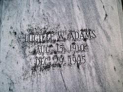Lucille W. Adams