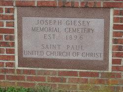 Joseph Giesey Memorial Cemetery