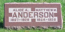 Alice Amanda <i>Biggerstaff</i> Anderson