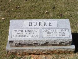 Dorothy L <i>Herbert</i> Burke