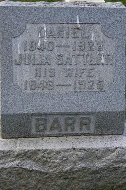 Julia <i>Sattler</i> Barr