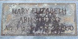 Mary Elizabeth <i>Baker</i> Armstrong