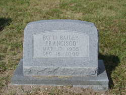Patti Elizabeth <i>Bailey</i> Francisco