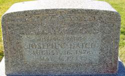 Joseph C Hatch