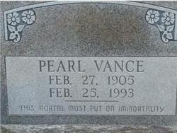 Pearl Pauline <i>Montgomery</i> Vance