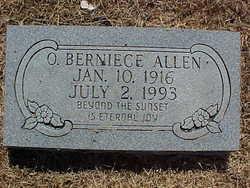 Opal Berniece <i>Webb</i> Allen