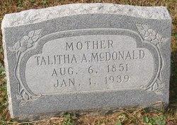 Talitha Angeline <i>Glazener</i> McDonald