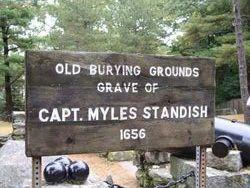 Capt Myles Standish