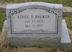 Ethel Rebecca <i>Slocomb</i> Brewer