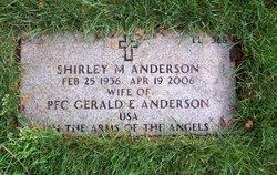 Shirley M. <i>Olsen</i> Anderson