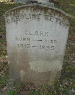 Caroline <i>Seton</i> Clark